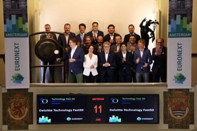 Persbericht: WePayPeople opent Amsterdamse beurshandel met gongslag